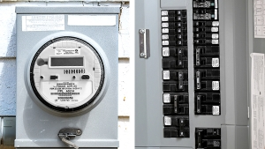 Smart Electrical Meter and Service Box Safety