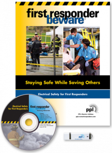 First Responder book, DVD and USB